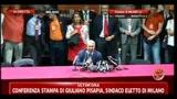 30/05/2011 - Amministrative 2011, Milano: conferenza stampa di Pisapia