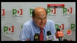 Amministrative 2011, Bersani: centrodestra non si opponga a nuova fase politica (parte 1)