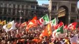 30/05/2011 - Festa Piazza Duomo, il discorso di Pisapia dal Teatro Elfo