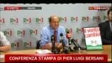 30/05/2011 - Amministrative 2011, conferenza stampa di Pier Luigi Bersani (parte 2)