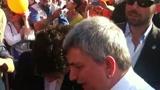 30/05/2011 - Milano,  Vendola in Piazza Duomo: Mi aspetto elezioni anticipate