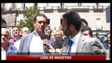 De Magistris, subito al lavoro per una giunta forte