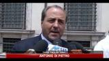 31/05/2011 - Di Pietro: Berlusconi lasci prima che si scateni una rivolta