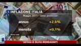 Eurostat, l' inflazione rallenta a Maggio nella zona euro