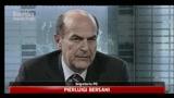 31/05/2011 - Bersani: Berlusconi si presenti dimissionario alle Camere