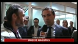 01/06/2011 - Napoli, De Magistris: adesso si comincia a lavorare