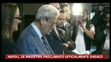01/06/2011 - Napoli, De Magistris proclamato ufficialmete Sindaco