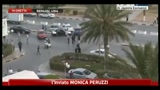 Forte esplosione davanti all'albergo Tibesti, forse autobomba