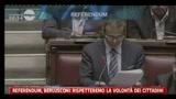 Referendum, Berlusconi: rispetteremo la volontà dei cittadini