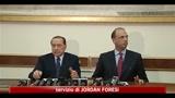 Colloquio al Quirinale tra Napolitano e Berlusconi
