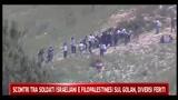 Scontri tra soldati israeliani e filopalestinesi sul Golan, diversi feriti