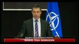Rasmussen su Libia, no truppe Nato a terra