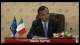 Frattini: il nostro impegno è di essere sempre presenti in Iraq