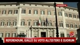 Referendum, giallo sul voto all'estero e quorum