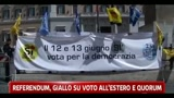Referendum, giallo su voto all'estero e quorum
