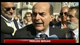 10/06/2011 - Referendum, Bersani: a un passo dal quorum, tutti votino