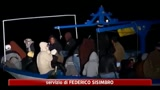 11/06/2011 - Lampedusa, arrivati sull'isola oltre 1500 profughi