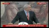 Conferenza stampa congiunta Berlusconi-Netanyahu