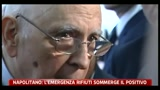 13/06/2011 - Napolitano, l'emergenza rifiuti sommerge il positivo
