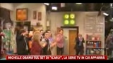 15/06/2011 - Michelle Obama sul set di Icarly, la serie tv in cui apparir
