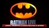 Londra, presentata la nuova auto di Batman