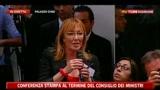 Tenuta governo, Maroni: Rimandiamo a Pontida