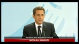 Crisi Grecia, Sarkozy: impegno totale per stabilit Euro