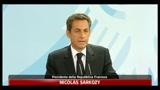 Crisi Grecia, Sarkozy: impegno totale per stabilità Euro