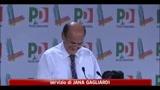 PD, Bersani: radicati in paese, piazze e rete siamo solo noi
