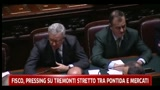 Fisco, pressing su Tremonti stretto tra Pontida e mercati
