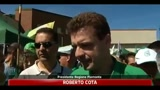 Raduno Pontida, Cota: Bossi unico Leader della Lega