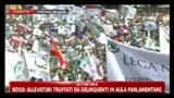 Ministeri al Nord, Bossi: Berlusconi s'è cagato sotto