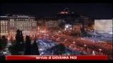 Atene, migliaia in piazza Sintagma contro le misure d'austerity