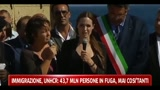 20/06/2011 - Lampedusa, la visita di Guterres e di Angelina Jolie