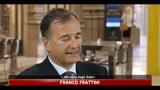 Ministeri al nord, Frattini: abbiamo chiarito con la Lega