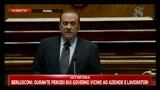 2 - Berlusconi al Senato per la verifica parlamentare