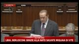 Berlusconi loda Bossi. L'opposizione: bacio, bacio
