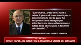 23/06/2011 - Napolitano scrive a Marco Pannella, da due mesi in sciopero della fame