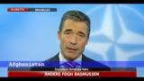 Rasmussen a Sky TG24 su Afghanistan e Libia
