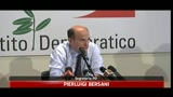 24/06/2011 - Intercettazioni, Bersani: limitare divulgazione
