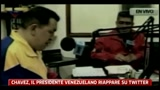Chavez, il Presidente venezuelano riappare su Twitter