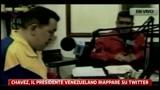 Chavez, il Presidente venezuelano riappare su Twitter
