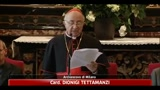 28/06/2011 - Tettamanzi: Scola, un uomo di molta cultura