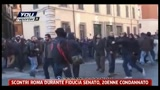 28/06/2011 - Scontri Roma durante fiducia Senato, 20enne condannato
