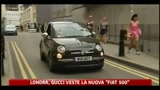 Londra, Gucci veste la nuova Fiat 500