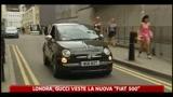 Londra, Gucci veste la nuova Fiat 500