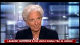 Lagarde, audizione a Fmi unica donna tra 24 uomini