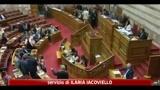 Grecia, il parlamento approva il piano per l'austerity da 78 miliardi