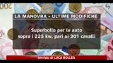 Manovra, le novita dal superbollo alle rendite finanziarie