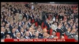 01/07/2011 - PDL, Berlusconi: Alfano  persona giusta